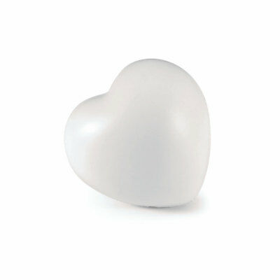 10 x White Love Heart Anti Stress Reliever Ball Ball's - Relief ADHD Autism Lot