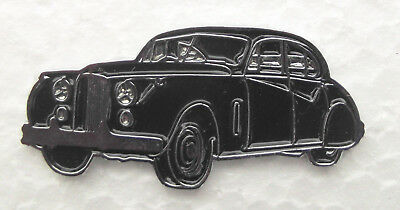 JAGUAR MkVII LAPEL PIN BADGE. 40x18mm. BUTTERFLY PIN FITTING.