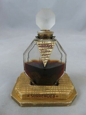 Vtg Ciro - Surrender - 1 Oz Bottle - Parfum / Perfume for Women - France