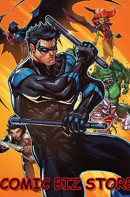 Titans #25 (2018) 1St Printing Meyers Variant Cover Bagged & Boarded Dc Universe