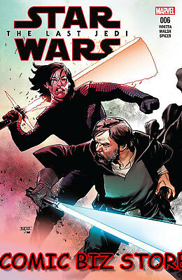 Star Wars Last Jedi Adaptation #6 (Of 6) (2018) 1St Printing Main Cover ($4.99)