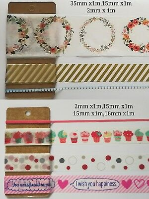 Christmas Washi Tape special edition Subpack twin pack XMAS