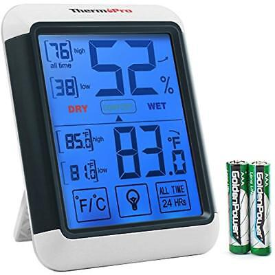 TP55 Home & Kitchen Features Digital Hygrometer Indoor Thermometer Humidity With