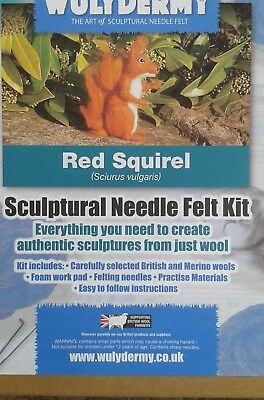 Needle felt kit British Wool Rare Breed Wool