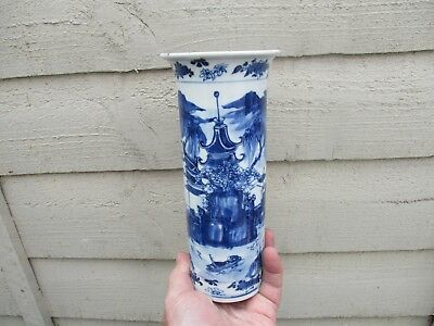 A Fine Signed Antique Chinese Hand Painted Vase 18/19th C?