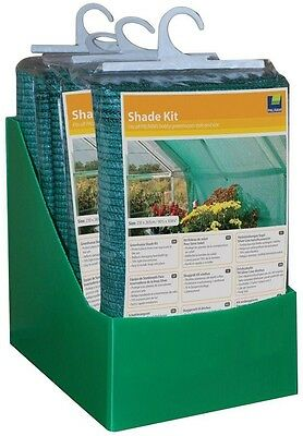 Garden Greenhouse Shade Kit Prevents Plant Damage Screen Sun UV Protection New