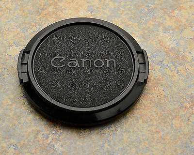 Retro Genuine Canon FD C 52mm Snap-On Front Lens Cap 50mm 1.8 (#1472)