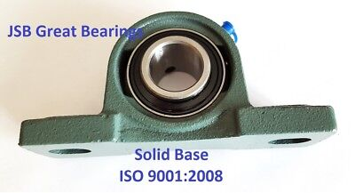 """(Qty.2) Solid Base High Quality 1/2"""" UCP201-8 self-align Pillow block bearings"""