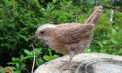 British Rare Breed Wool Needle felting kit Wren