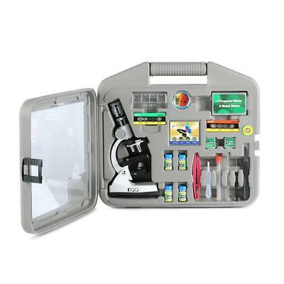 DQQ Microscope for Kids Microscopes Students with Case and Slides 50X 100X...