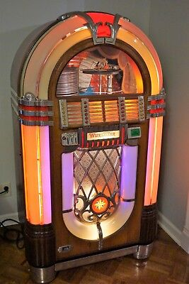WURLITZER 1015 JUKEBOX Bubbler Antique