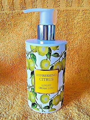 "VIVIAN GRAY  ""Refreshing CITRUS"" LUXURY Cream Soap Seifenspender (250 ml) *NEU*"