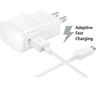 Adaptive Fast Quick Turbo Micro USB Wall Charger for LG Samsung Motorola HTC