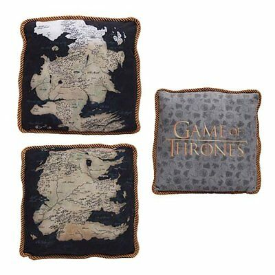 Game Of Thrones - Westeros Map Throw Pillows (Set of 2)