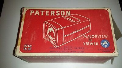 Paterson Boxed Majorview 35 Slide Viewer