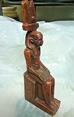 RARE ANCIENT EGYPTIAN ANTIQUE RAMSES III Statue 1187-11151 BC