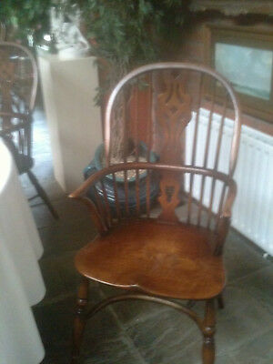 windsor chair splat back - solid chair - one of several available