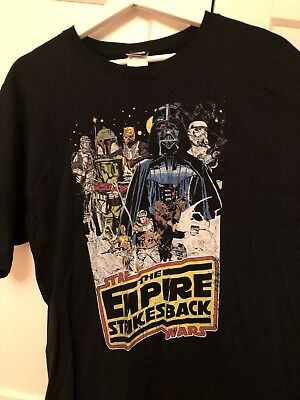 Star Wars - The Empire strikes back collage T-Shirt XL NEU