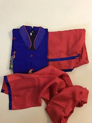 IBC $16 compare $75 Girl's 10-11 yr Punjabi Salwar Suit kids Party DRess size 34