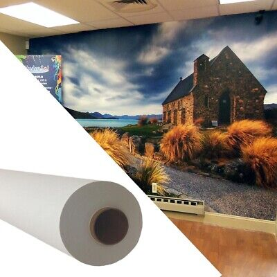 """Self-adhesive Inkjet Wallpaper,Wall Fabric Wallcovering Wall Decals 50"""" x 100ft"""