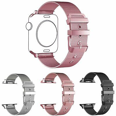 Stainless Steel Milanese Loop Band iWatch Strap band for Apple Watch 38mm 42mm