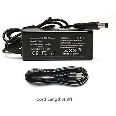 65W Ac Power Cord Charger Laptop Adapter For HP Compaq Presario CQ60 CQ61 CQ62