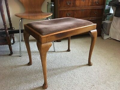Antique Piano Stool