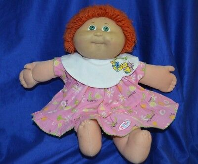 Cabbage Patch Kids Red Hair Doll -Original Appalachian Artwork -Coleco -Taiwan -