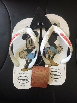-=NEW=- Havaianas DISNEY Minnie Mouse - Thongs / Flip Flops / Sandals Kids