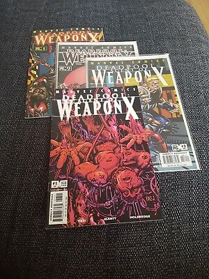 Deadpool 57-60 Agent of weapon X 1-4 uber hot volume one