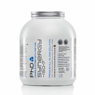 PhD SYNERGY ISO-7 / HIGH PROTEIN ALL-IN-ONE SOLUTION /(2KG) Mass Gainer