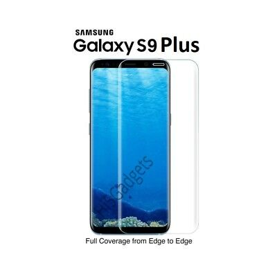 100% Genuine tempered glass screen protector for Samsung Galaxy S9 Plus - Clear