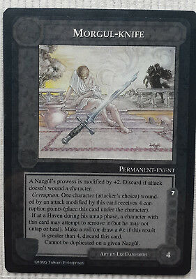 MECCG - Middle Earth CCG - The Wizards - ENG LTD - Morgul Knife - NM