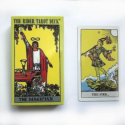 """The Rider Tarot Deck"" Board Game 78+2 PCS/Set New Design Cards Game English"