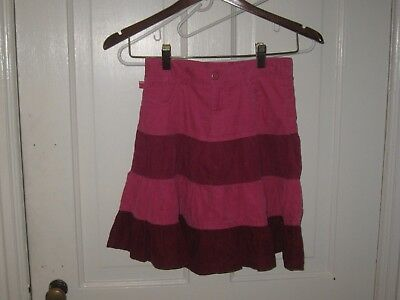 """Girls Size 8 The Childrens Place  Modest 17"""" Long Cord Skirt"""