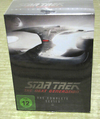 Star Trek - The Next Generation - The Complete Series Komplettbox 49DVDs NEU&OVP