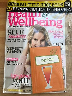 Health & Wellbeing Magazine - Brand New October 18 Issue UNREAD, UNOPENED.