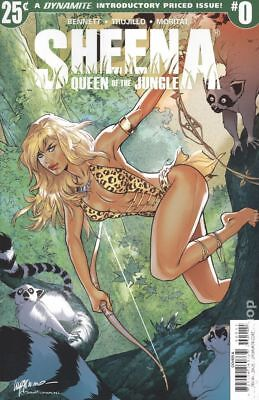 Sheena (Dynamite) #0A 2017 Lupacchino Variant NM Stock Image