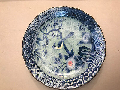 Antique signed Chinese Japanese Plate Porcelain China Japan Porzellan Teller