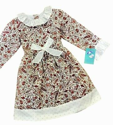 Girls Baby Ferr A/W '18 Spanish designer bow dress new with tags
