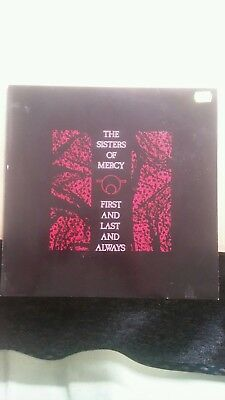 THE SISTERS OF MERCY First And Last And Always / German LP 1985 - TOP