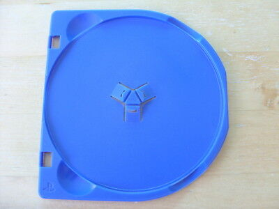 Playstation Two / Ps2 - Genuine Replacement Blue Centre Case Disc Tray/holder