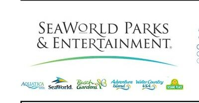 1 Day Ticket To Any Seaworld Or Busch Gardens Park