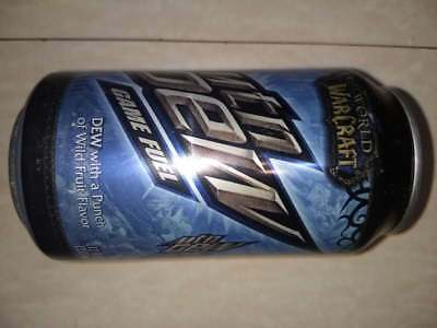 One can of Mountain Dew Game Fuel World Of Warcraft Edition.