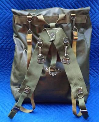 Czechoslovakia People Army Surplus  - Military Backpack w/ Extra Combat Harness