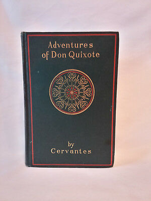 Cervantes ADVENTURES OF DON QUIXOTE antique 19th to early 20th c. HB