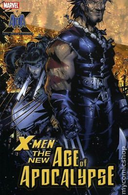 X-Men New Age of Apocalypse TPB #1-1ST 2005 VF Stock Image