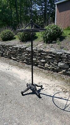 Antique Cast Iron Spinning Clothes Rack