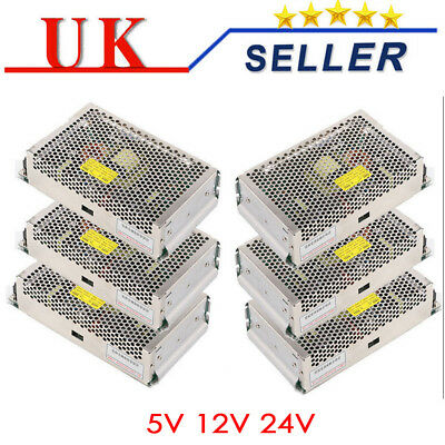 DC Inustrial Universal Regulated Switching Power Supply LED Strip CCTV Uk Seller