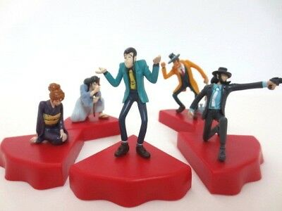 LUPIN III x Coca Cola Lupin the 3rd Action Figure set of 5